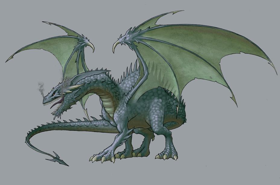 Итак, фанфары.  Прибыл самый могучий монстр в игре.  Да, черный дракон по-прежнему стоит всей своей славы.