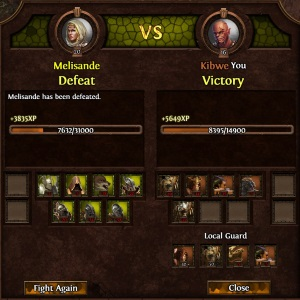 Melisande was hard to beat