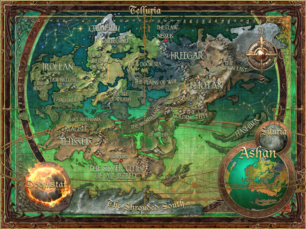 Might And Magic X World Map.Celestial Heavens All Things Might And Magic