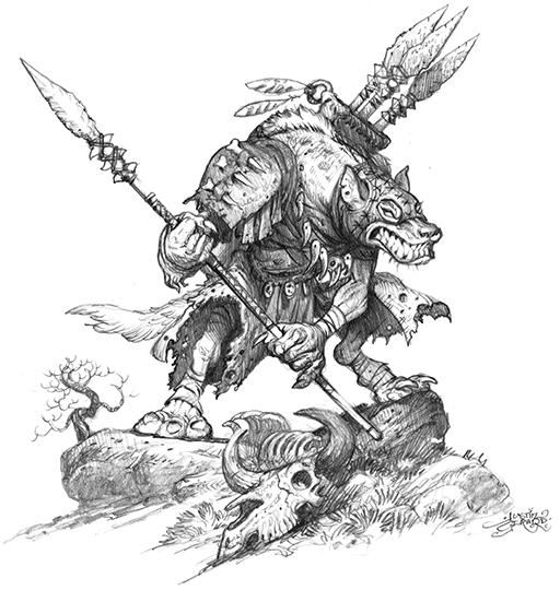 Gnoll Spearthrower